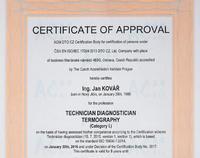 Školení Přípravný kurz pro certifikaci v termografii