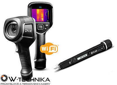 Termokamera FLIR E8xt ve stavebním balíčku - 1