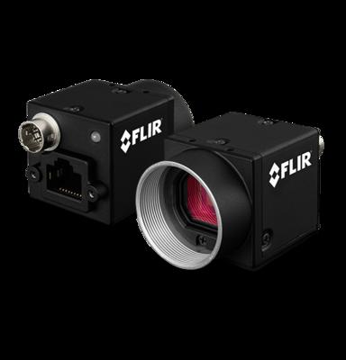 Průmyslová kamera Flir-PointGrey Blackfly 1,3 MP Color/Mono GigE PoE - 1