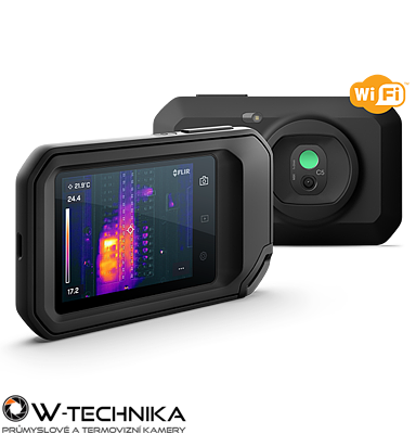 Malá a lehká termokamera FLIR C5 - 1