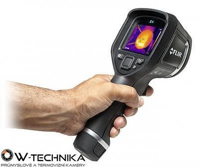 Termokamera FLIR E4 pro průmysl a stavebnictví - 1