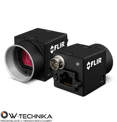 Průmyslová kamera Flir-PointGrey Flea3 1.3 MP Color/Mono GigE Vision - 1