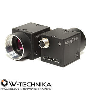 Průmyslová kamera Flir-PointGrey Flea3 2.0 MP Color / Mono USB3 Vision - 1