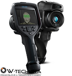 Termokamera FLIR E86-EST pro screening horečnatých stavů - 1