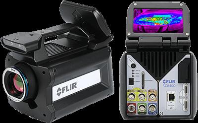Vysokorychlostní termokamera FLIR X6580sc MWIR pro vědu a vývoj