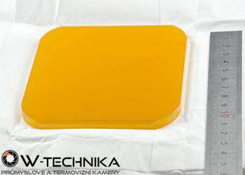 IR okénko ze selenidu zinečnatého (ZnSe) pro termografii - 1
