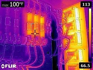 Termokamera FLIR E5 pro průmysl a stavebnictví - 2