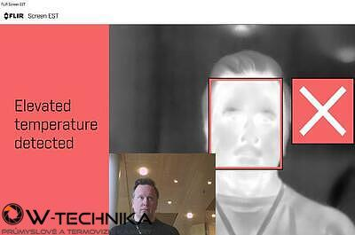 Software FLIR Screen-EST Kit pro kontrolu teploty pokožky - 2