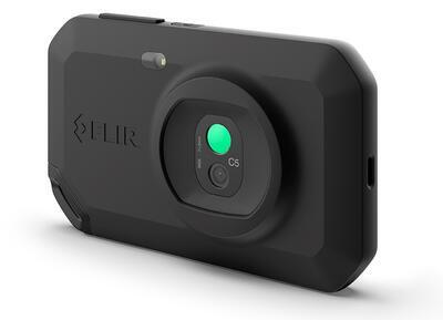 Malá a lehká termokamera FLIR C5 - 2