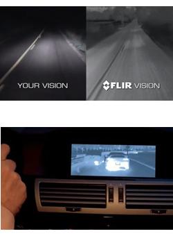 Termokamera FLIR PathFindIR II pro automobily - 2