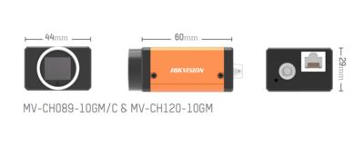 Kamera Hikvision GigE Area Scan MV-CH120-10GM - 2