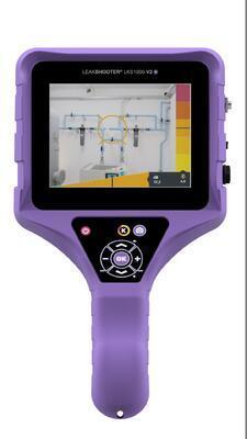 Leakshooter LKS1000-V2+ akustická kamera pro detekci úniku plynů - 2