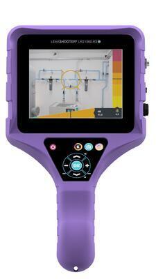 Leakshooter LKS1000-V3+ - akustická kamera pro detekci úniku plynů - 2