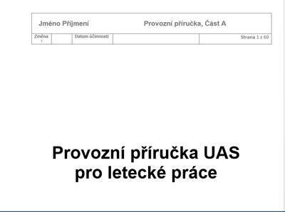 Provozní příručka pro DJI Mavic PRO - 2
