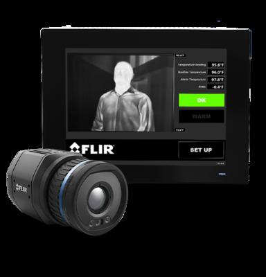 Termokamera FLIR A700-EST pro screening horečnatých stavů - 2