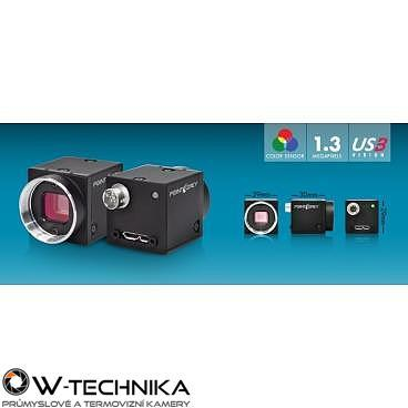 Průmyslová kamera Flir-PointGrey Blackfly 1.3 MP Color/Mono USB3 Vision - 2