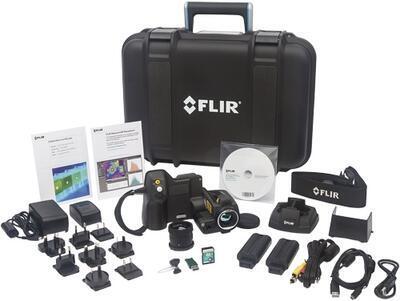 Termokamera FLIR T420bx pro stavebnictví - 2