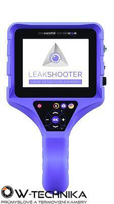 Leakshooter LKS1000-V2+ IR akustická kamera pro detekci úniku plynů - 2