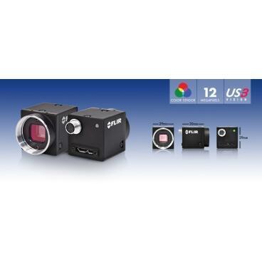 Průmyslová kamera Flir-PointGrey Flea3 12 MP Color USB3 Vision - 2