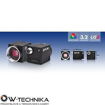 Průmyslová kamera Flir-PointGrey Flea3 3.2 MP Color / Mono USB3 Vision - 2