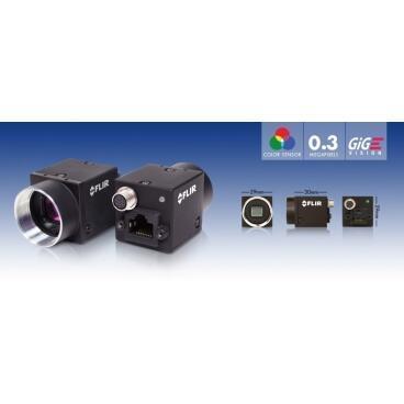 Průmyslová kamera Flir-PointGrey Flea3 0.3 MP Color/Mono GigE Vision - 2