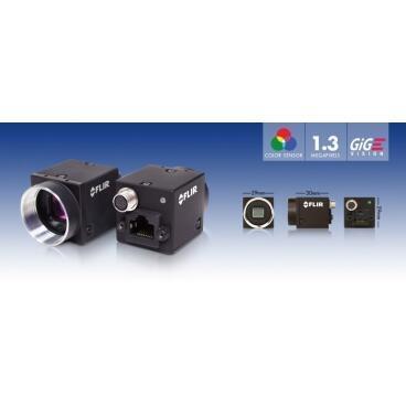 Průmyslová kamera Flir-PointGrey Flea3 1.3 MP Color/Mono GigE Vision - 2