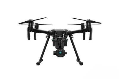 Sestava: termokamera DJI ZENMUSE XT2 & dron DJI M200 V2.0 - 2