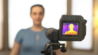 Termokamera FLIR T560-EST pro screening horečnatých stavů - 2