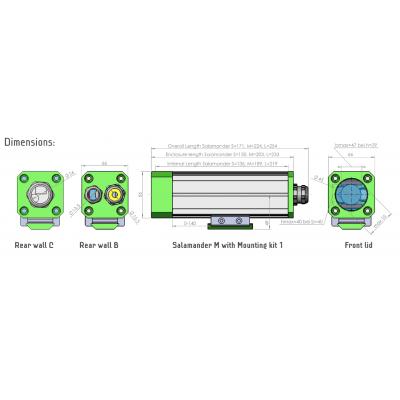 Ochranný kryt autoVimation Salamander (IP 67) - 2