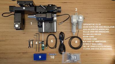CNC frézka Pocket NC V2-50 - 2