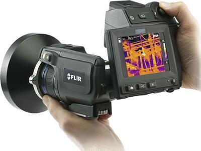 Termokamera FLIR T640bx pro stavebnictví - 2