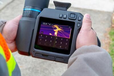 Termokamera FLIR T840 pro průmysl a stavebnictví - 2