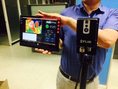 Malá inteligentní termokamera FLIR AX8 - 3
