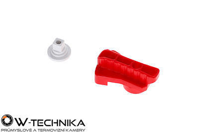 Red Rotatable Clamp Kit pro dron DJI MATRICE 600 - 3