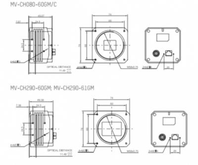 Kamera Hikvision GigE Area Scan MV-CH080-60GM - 3