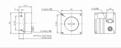 Kamera Line Scan MV-CL020-40GM - 3