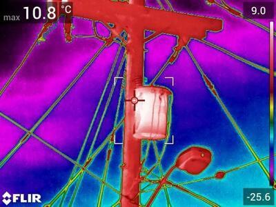 Termokamera FLIR T840 pro průmysl a stavebnictví - 3