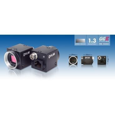 Průmyslová kamera Flir-PointGrey Blackfly 1,3 MP Color/Mono GigE PoE - 3