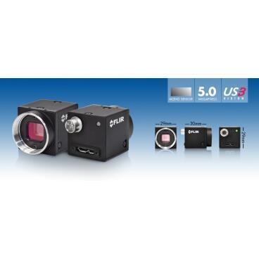 Průmyslová kamera Flir-PointGrey Blackfly 5.0 MP Color/Mono USB3 Vision - 3