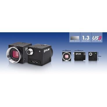 Průmyslová kamera Flir-PointGrey Flea3 0.3 MP Color/Mono GigE Vision - 3