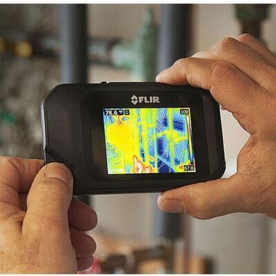 Malá a lehká termokamera FLIR C3 - 3