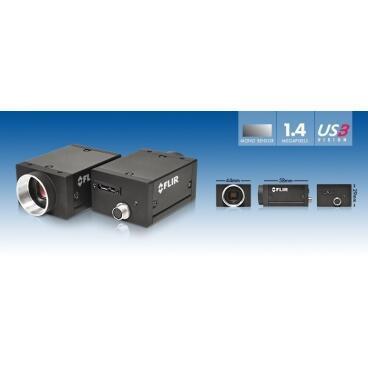 Průmyslová kamera Flir-PointGrey Grasshopper3 1.4 MP Color / Mono USB3 Vision - 3