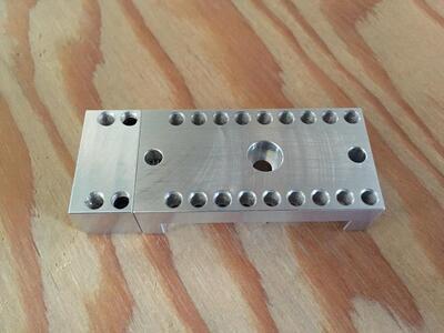 Strojní svěrák pro Pocket NC - 4
