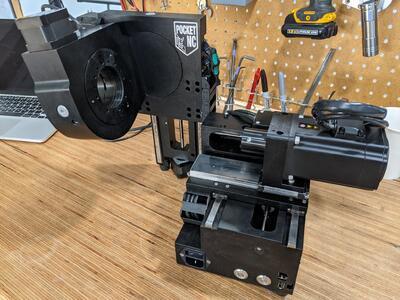 CNC frézka Pocket NC V2-10 - 4
