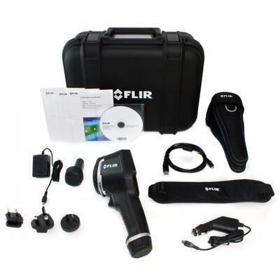 Termokamera FLIR E5 pro průmysl a stavebnictví - 4