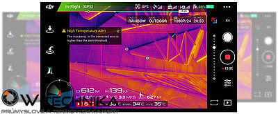 Termokamera pro drony DJI ZENMUSE XT - 5