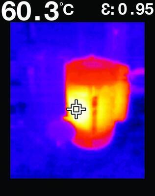 Vizuální infračervený teploměr FLIR TG267 - 6