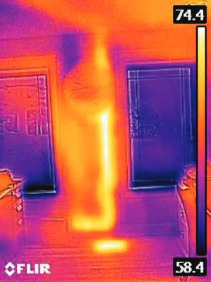 Malá a lehká termokamera FLIR C3 - 7
