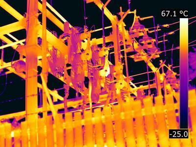Termokamera FLIR T1K (FLIR T1020) s HD rozlišením pro stavebnictví a průmysl - 7