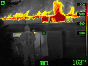 Termokamera FLIR K55 pro hasiče - 7